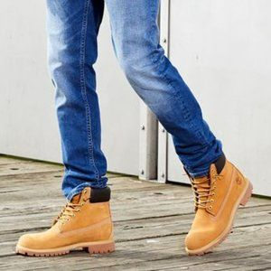 """TIMBERLAND Classic 6"""" Wheat 💯%LEATHER WATERPROOF Boot 10.5M/12W WINTER/SNOW"""